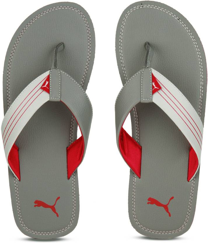409a17c18 Puma Ketava Duo DP Slippers - Buy steel gray-high risk red-gray violet  Color Puma Ketava Duo DP Slippers Online at Best Price - Shop Online for  Footwears in ...
