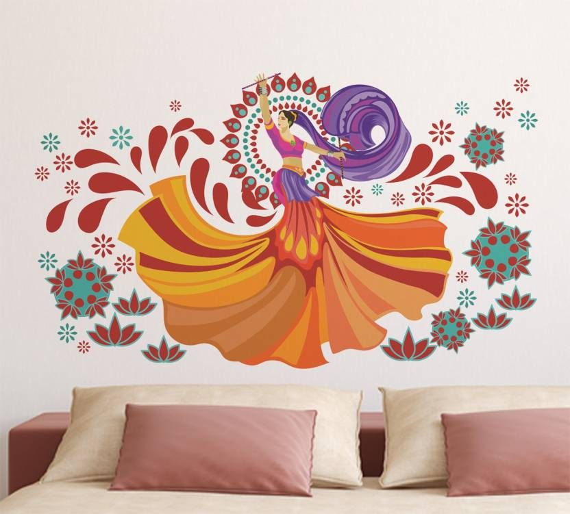 wallmonks large wall décor sticker price in india - buy wallmonks