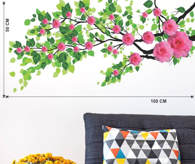 doodad extra large marvelous nature design wallsticker matt vinyl