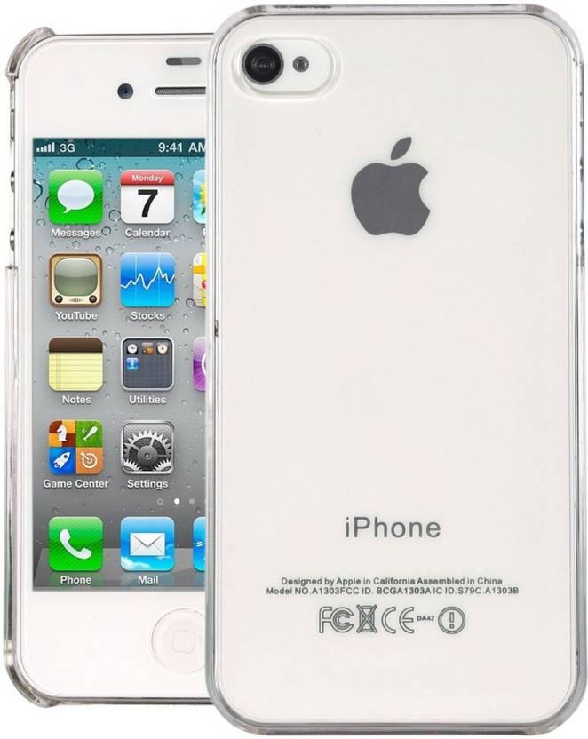 brand new 1d3b6 e1523 Mofi Back Cover for Apple iPhone 4, Apple iPhone 4s - Mofi ...