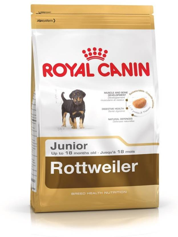 Royal Canin Rottweiler Puppy 3 Kg Dry Dog Food Price In India Buy