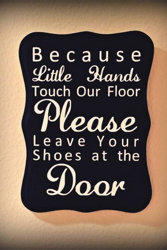 0985d81bfdadf ATH please take off your shoes Wall Poster 13*19 inches Matte Finish ...