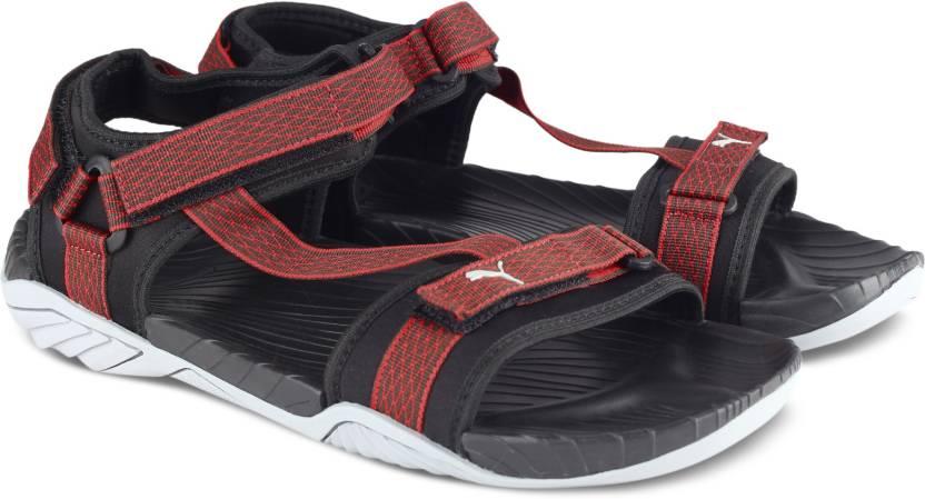 eb290d0c082 Puma Men Puma Black-Asphalt-Quarry-High Risk Red Sports Sandals - Buy Puma  Black-Asphalt-Quarry-High Risk Red Color Puma Men Puma Black-Asphalt-Quarry-High  ...