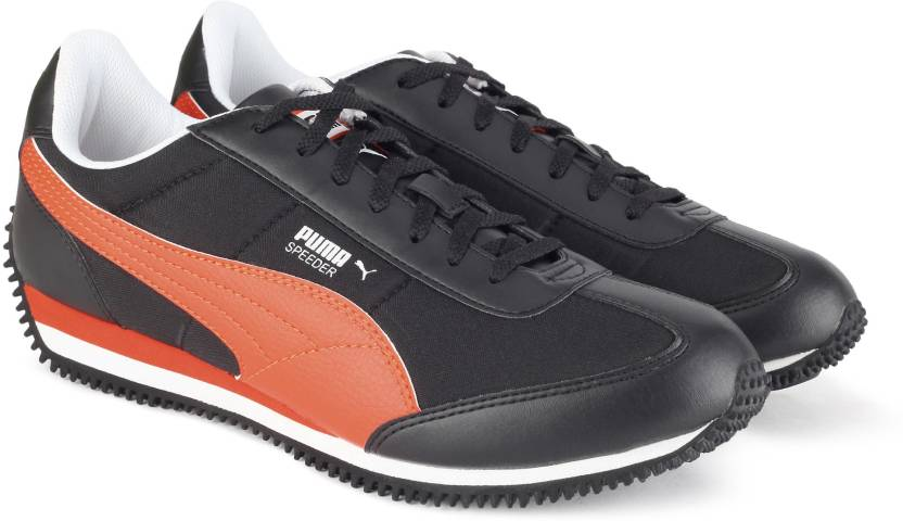 2576c95e9aa0 Puma Velocity Tetron II IDP Sneakers For Men - Buy Black-Vermillion ...