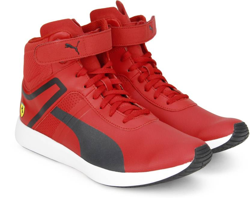 25c74be3bb179a Puma Ferrari SF F116 Boot Sneakers For Men - Buy Rosso Corsa-Puma ...