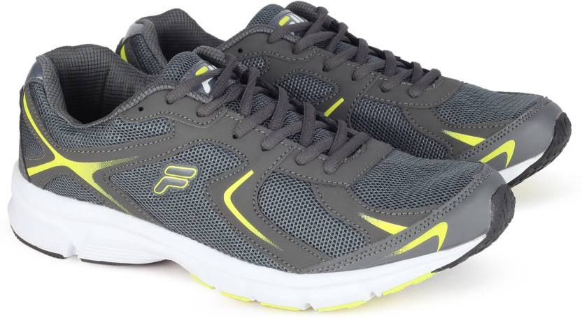 3c4d172f8bee Fila FORCE LITE Running Shoes For Men - Buy DK GRY YEL Color Fila ...