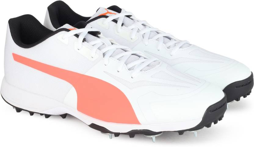 Puma evoSPEED 360.1 Cricket Spike Cricket Shoes For Men - Buy White ... 27e698e32696