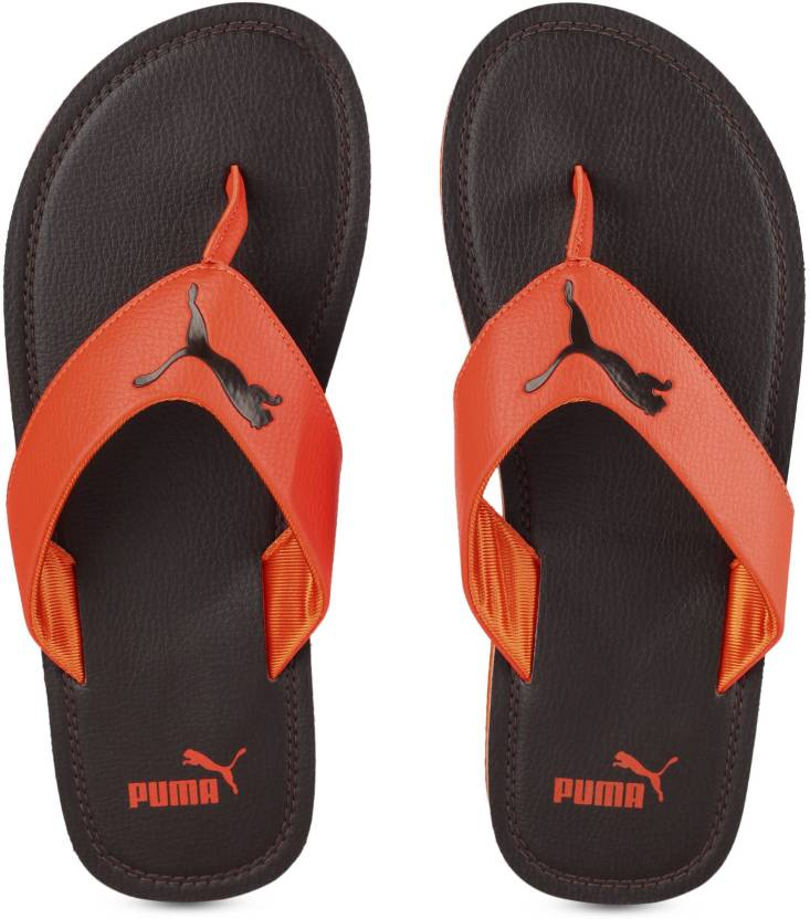 86699d75a1c3 Puma Flash Cat IDP Slippers - Buy Chocolate Brown-KOI Color Puma Flash Cat  IDP Slippers Online at Best Price - Shop Online for Footwears in India ...