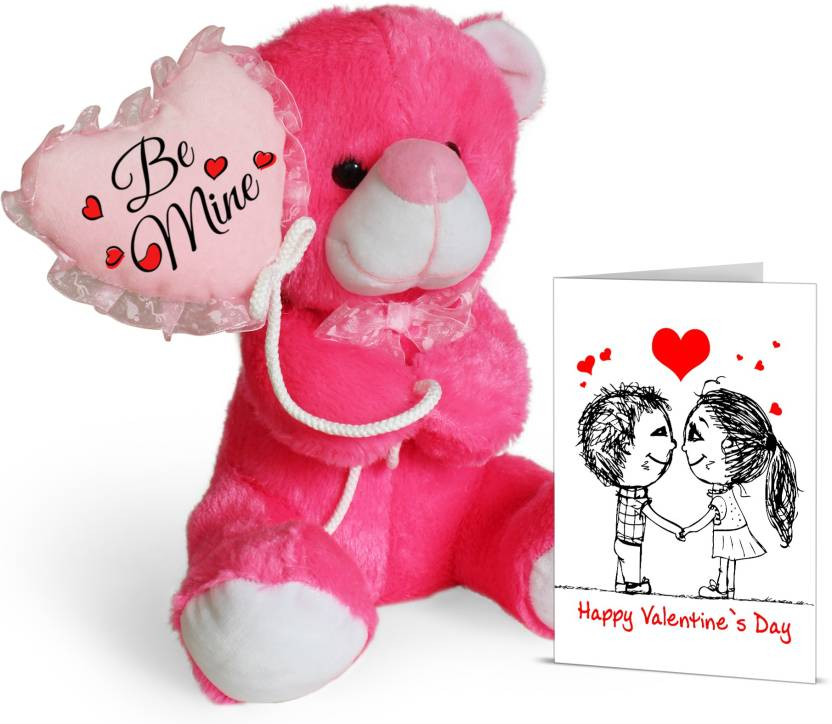 e88e35606912 Tied Ribbons Valentines Day Love Gift for Her Girl friend Wife Lover Teddy  Bear with Greeting Card Soft Toy Gift Set Price in India - Buy Tied Ribbons  ...
