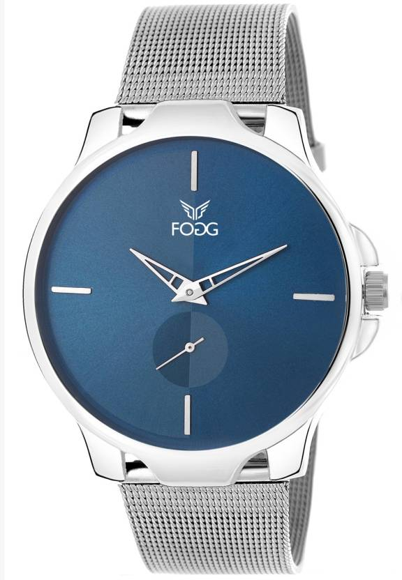 Fogg 2045 Bl Separate Second Hand Watch For Men