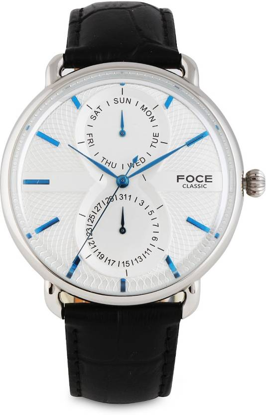 915877931cc FOCE FC11SSL CLASSIC Watch - For Men - Buy FOCE FC11SSL CLASSIC Watch - For  Men FC11SSL Online at Best Prices in India