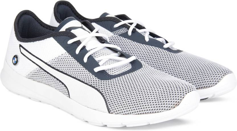 Puma BMW MS Runner Sneakers For Men - Buy Puma White-Team Blue Color ... 5929a3e6a