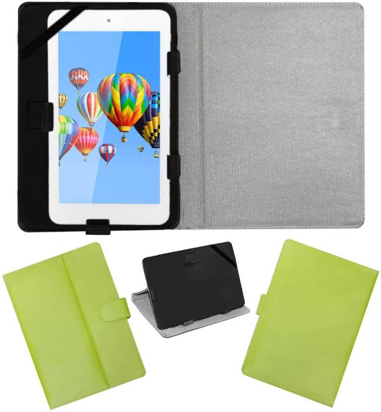ACM Flip Cover for Digiflip Pro Et701 Tab Green, Cases with Holder