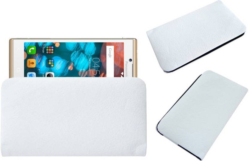 ACM Pouch for Panasonic P66 Mega White, Cases with Holder