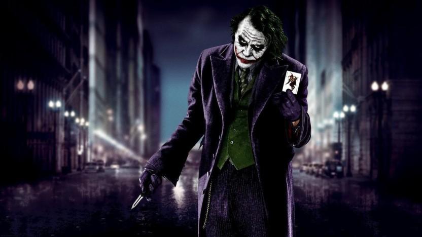 NEW THE DARK KNIGHT JOKER WITH GUN HEATH FILM MOVIE CINEMA PRINT PREMIUM POSTER