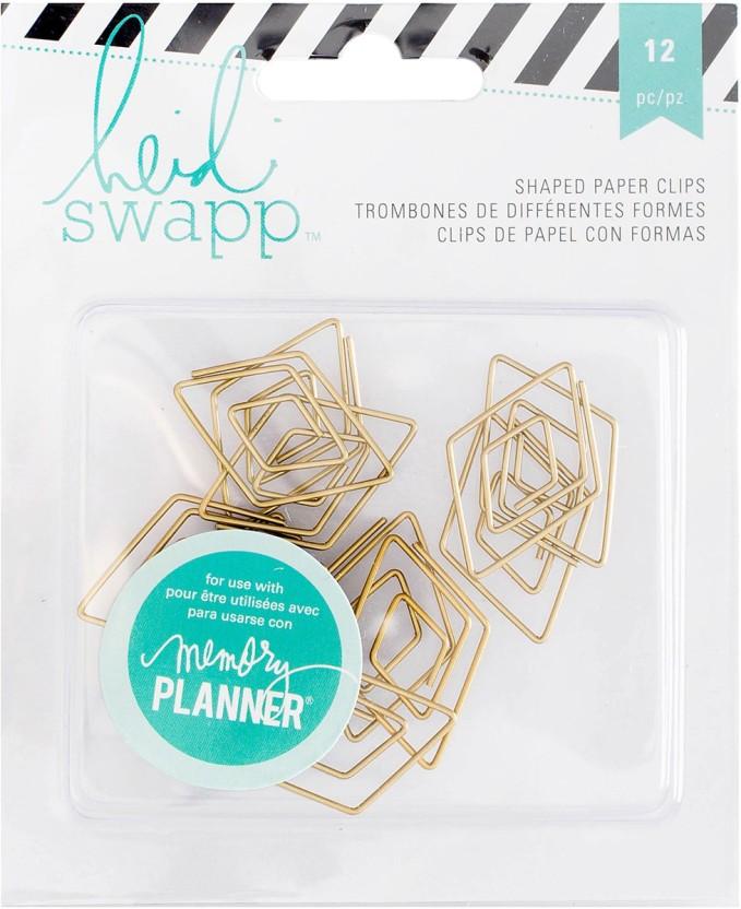 American Crafts Heidi Swapp Memory Planner Paper Clips 12//pkg