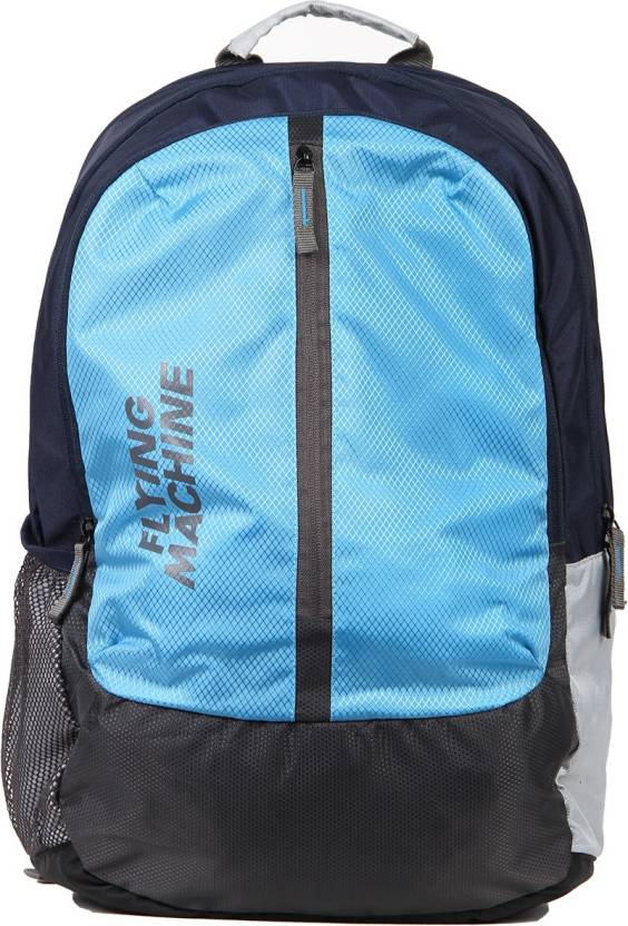 fd987a59ac Flying Machine FMLO8123 24 L Laptop Backpack (Blue)