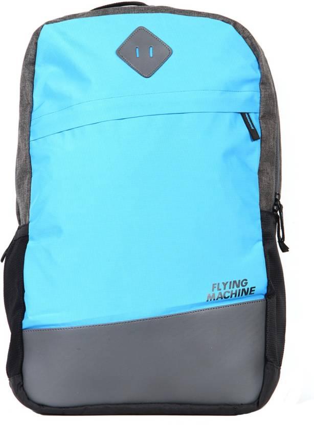 3f74aa535c Flying Machine FMSB0041 24 L Laptop Backpack (Blue