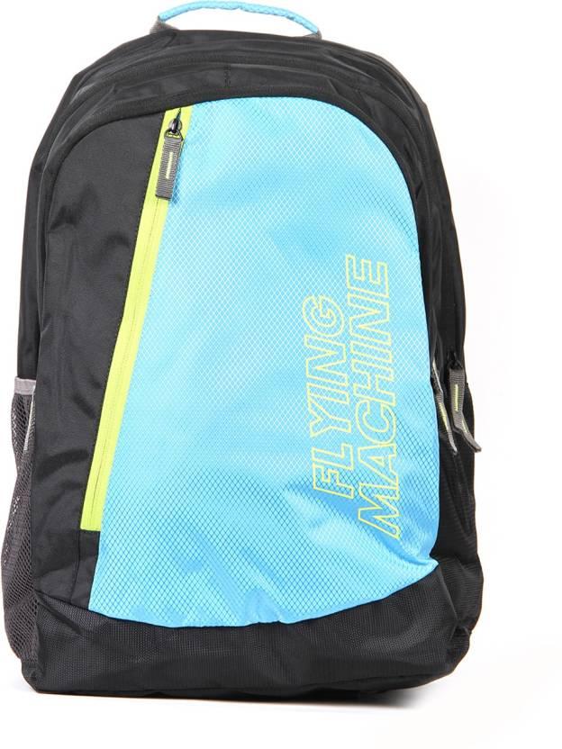 10f9407b19 Flying Machine FMLO8131 24 L Laptop Backpack (Black