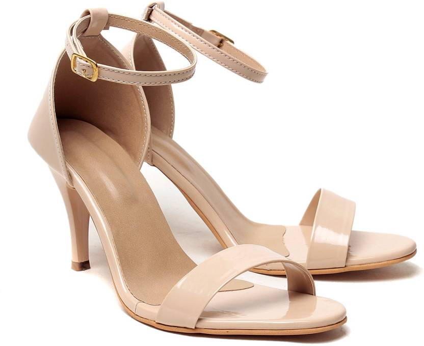 d17fcd410e2f Klaur Melbourne Women Beige Heels - Buy Klaur Melbourne Women Beige Heels  Online at Best Price - Shop Online for Footwears in India