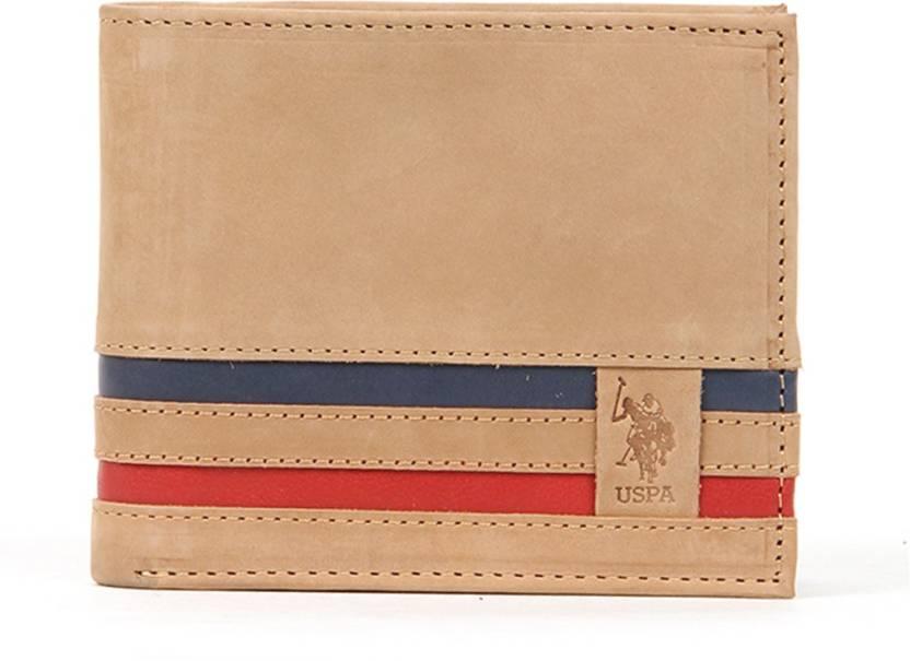 ... sale 44c5f 61c05  U.S. Polo Assn Men Multicolor Genuine Leather Wallet. 3e106c46ebfae