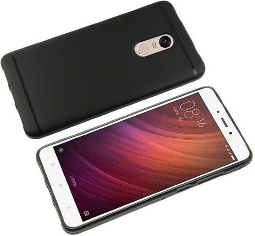 5935a6d504f ARCMOBI Back Cover for Xiaomi Redmi Note 4 Mi Note 4 (AUTO-FOCUS CASE)  (Metallic Black