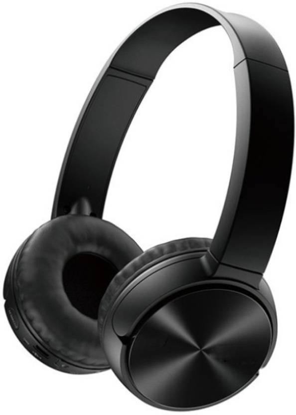 da1b0a1aaa9 ShopyBucket Wireless Stereo Dynamic Headphone 330BT bluetooth Creative Best  Adjustable And Easy To Carry &Portable Wireless Headphone(Assorted Colour  Will ...