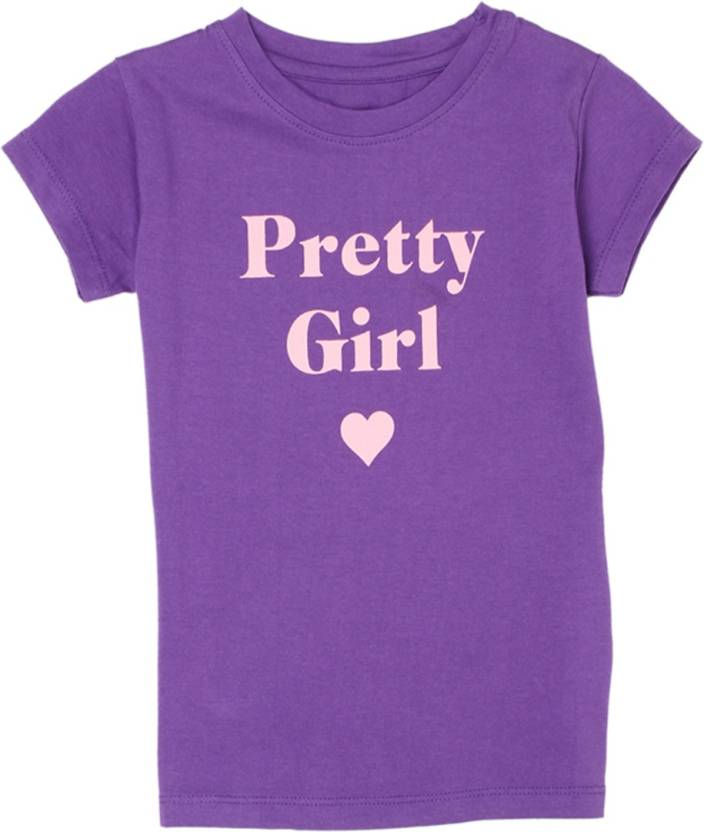 Pepe Jeans Girls Graphic Print Cotton T Shirt Price In India Buy