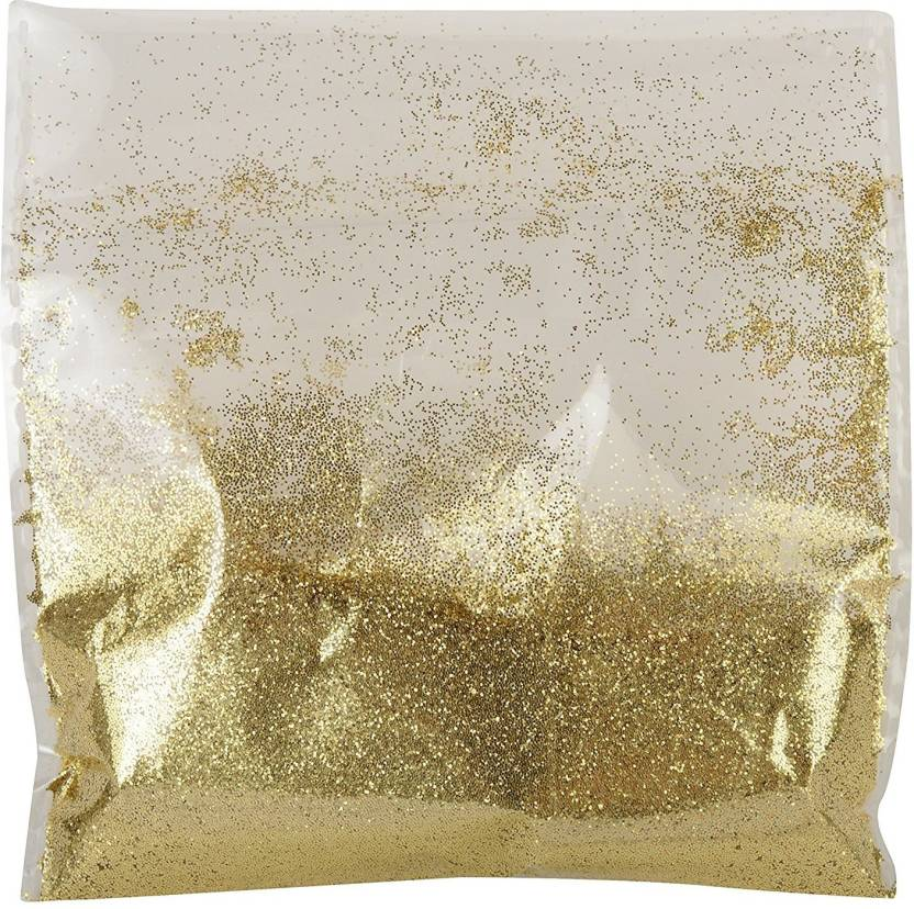 Goelx Powdered Sparkle Golden Dust For Designing Jewelry Popular