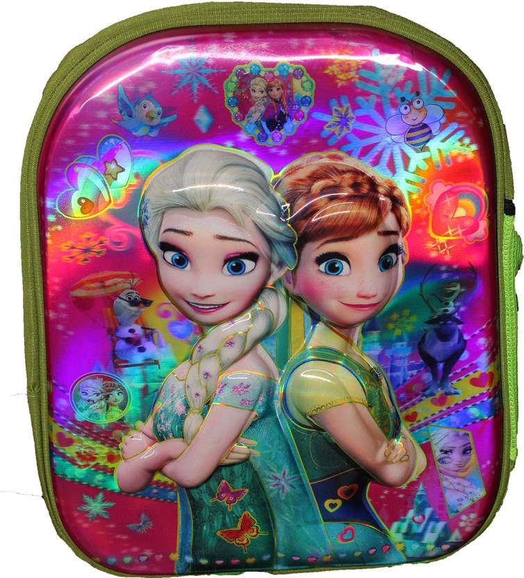 e52bcb7d26 Wonder Star Present Disney princes 3D Print school Bag for NURSERY TO 1  CLASS Under 6 Years Kids Girls Boys Small Size (L X B X H )( 35 x 30 x 12  cm) ...