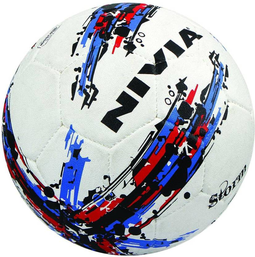 Nivia Storm Football - Size: 5  (Pack of 1, Multicolor)