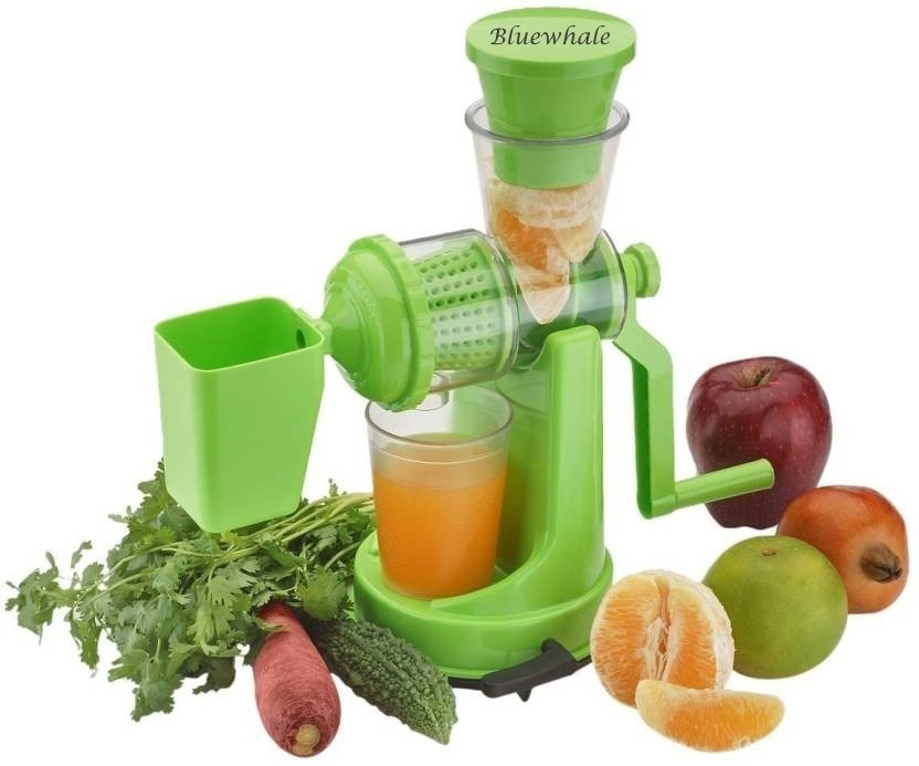 Manual Fruit and Vegetable Juicer Steel Handle and Waste Collector with Vaccum Locking System Juicer Mixer for Fruits and Vegetables Juicer Hand Machine Orange Juicer