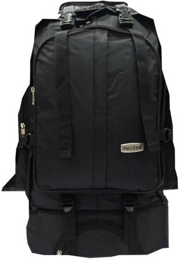 45643424d37 Proline elite outdoor rucksack 65 liters trekking bag Rucksack - 65 L  (Black)