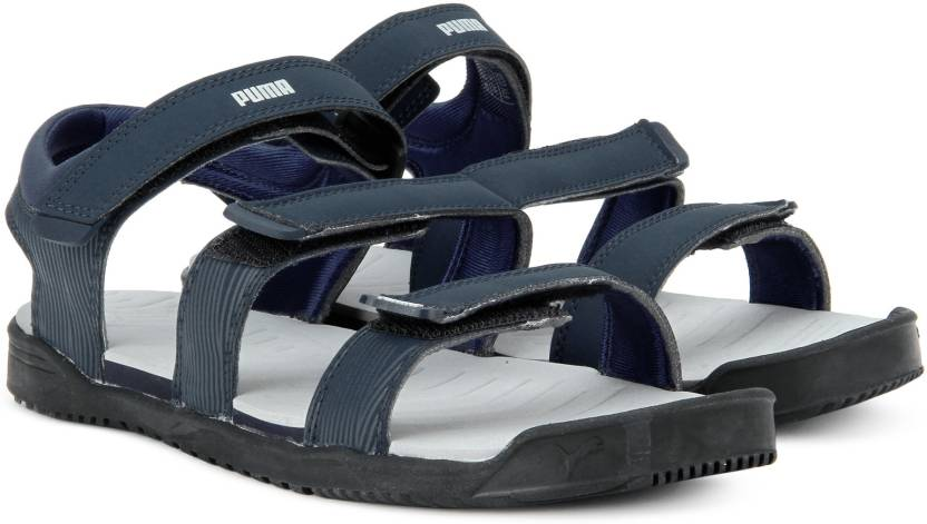 2c9a9f852989 Puma Men Peacoat-Quarry Sports Sandals - Buy Peacoat-Quarry Color Puma Men  Peacoat-Quarry Sports Sandals Online at Best Price - Shop Online for  Footwears in ...