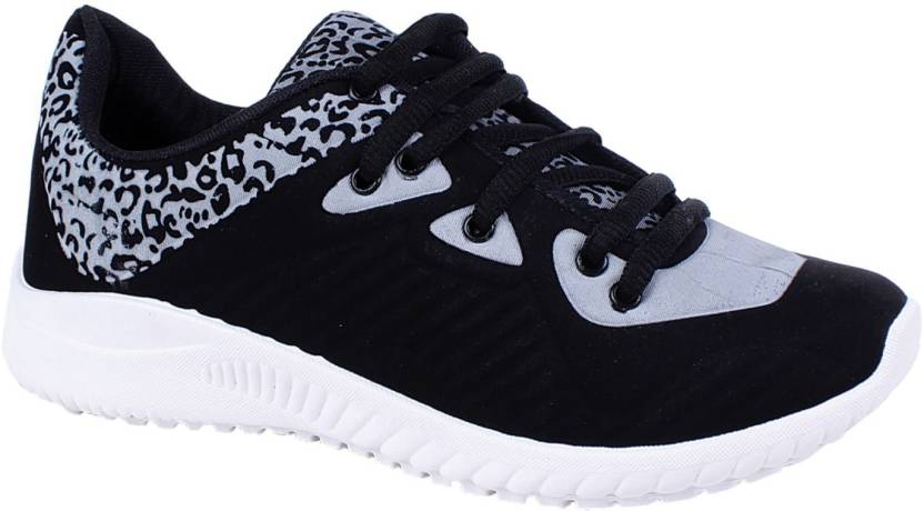 f9b2c965dbb79 MY COOL STEP Sports Running Shoes (CHAMPION ) Running Shoes For Men (Black