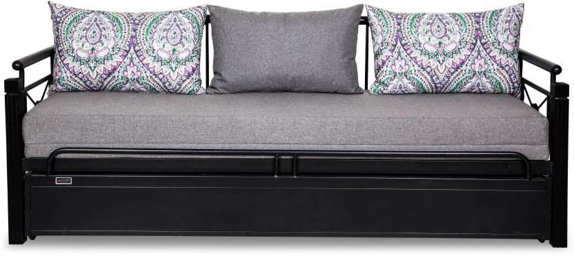 Furniturekraft Venice Single Metal Engineered Wood Sofa Bed Price