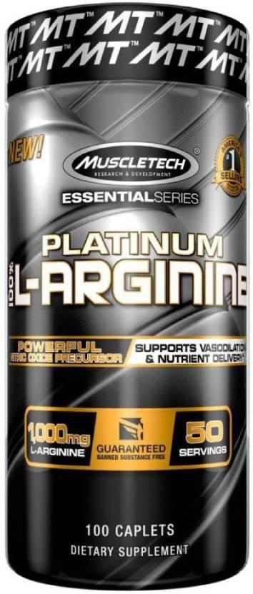 Muscletech Essential Series Platinum L-arginine Price in India - Buy ... 911fd1fde874