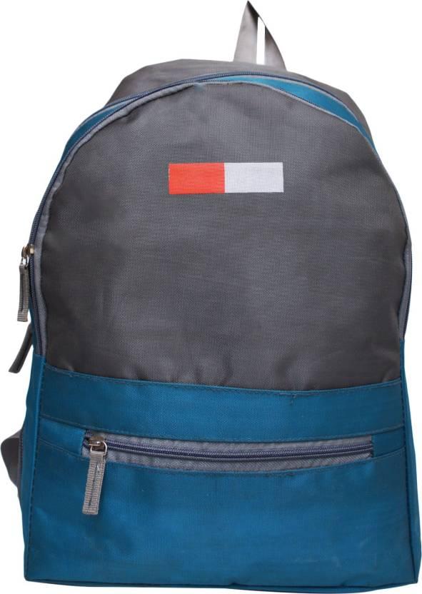 ba51d8f2a1 Vintage Stylish Unisex Casual Backpack College Bag School Bag 12.5 L  Backpack (Blue)