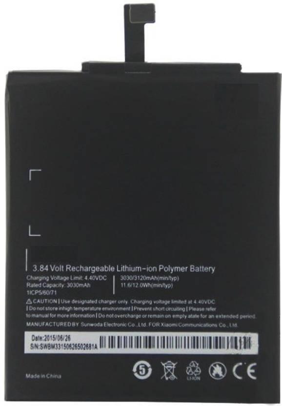 DGT Mobile Battery For Mi 4i