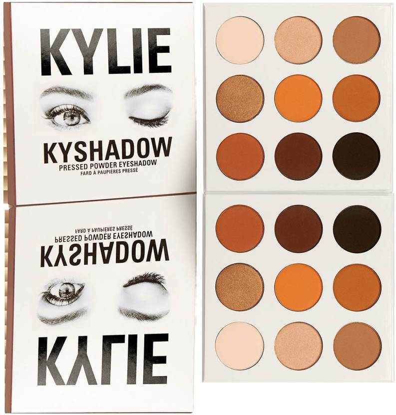 Kylie Jenner Bronze Eye Shadow Palette 9 g (Multi)