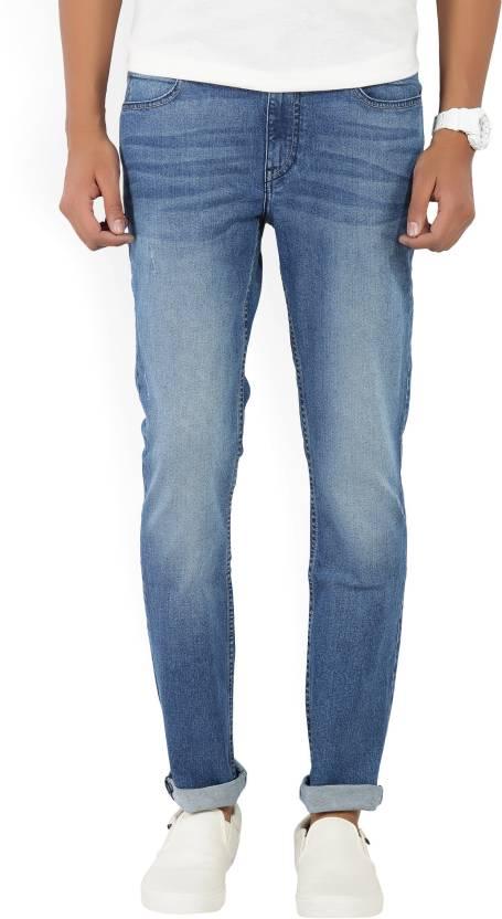 Lee Skinny Mens Blue Jeans