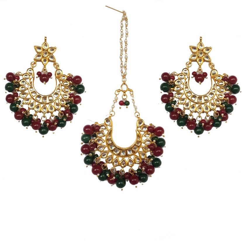 94cae72310b2d Ragini Jewels Brass Jewel Set Price in India - Buy Ragini Jewels ...