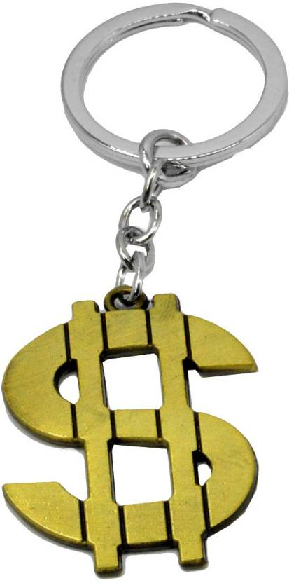Faynci Fashion High Quality Stainless Steel Dollar Sign Keychains Men and Women  Key Chain Price in India - Buy Faynci Fashion High Quality Stainless Steel  ... 489b564def