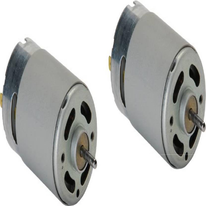 TechWiz 12V High RPM Dc Motor Pack of 2