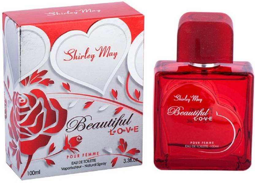 Shirley May BEAUTIFUL LOVE (Imported From U.A.E) Eau de Toilette - 100 ml (For Women)