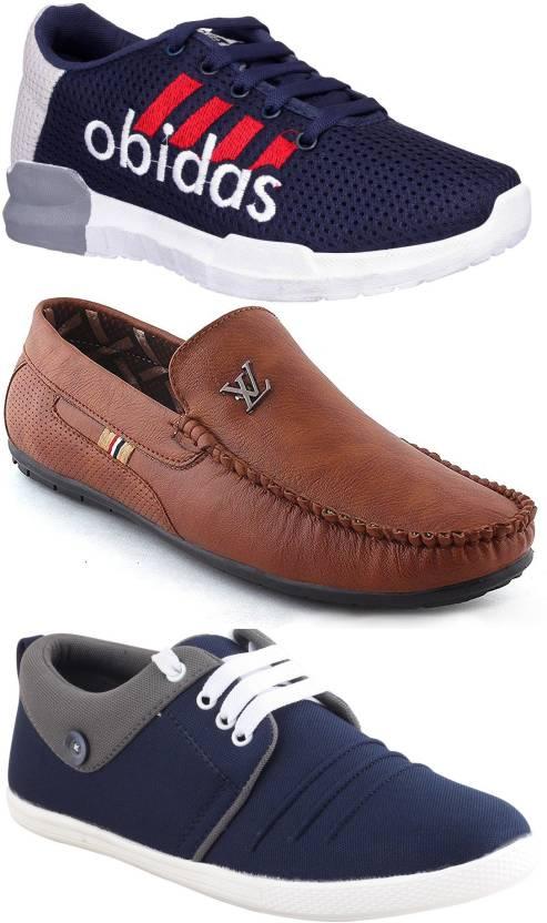756508e62f8e Jabra Obidas+LV Brown+Dust-1 Sneakers For Men - Buy Jabra Obidas+LV ...
