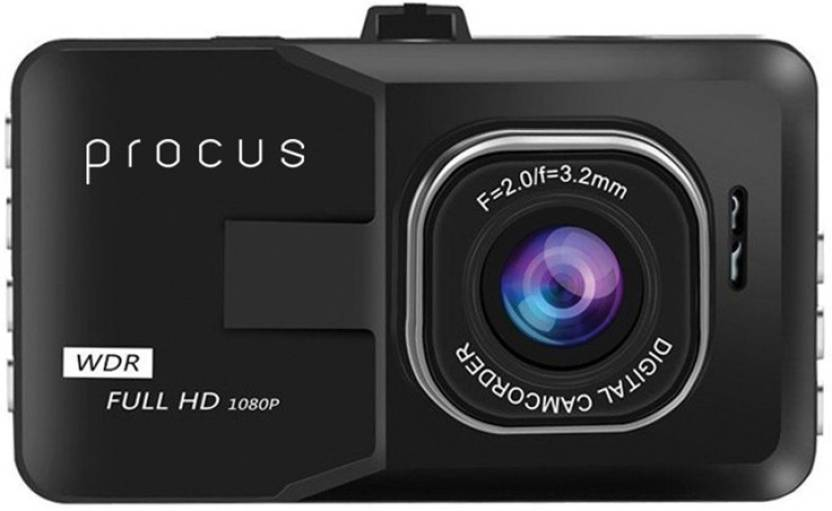 Procus Convoy Convoy Car Dash Camera Hd 1080p 3 Lcd Screen Video