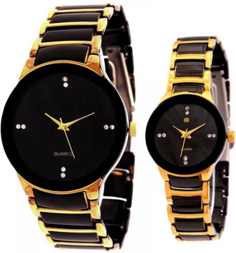 33d7ea3278 IIK Collection Rado-1IIKMWGLD SE-IIKMNBLKGLD Watch - For Couple - Buy IIK  Collection Rado-1IIKMWGLD SE-IIKMNBLKGLD Watch - For Couple Rado-1IIKMWGLD  Online ...