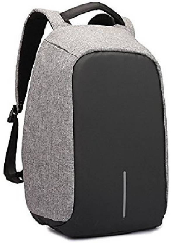 a2b6090a8a54 Royal anti theft 25 L Laptop Backpack black grey - Price in India ...