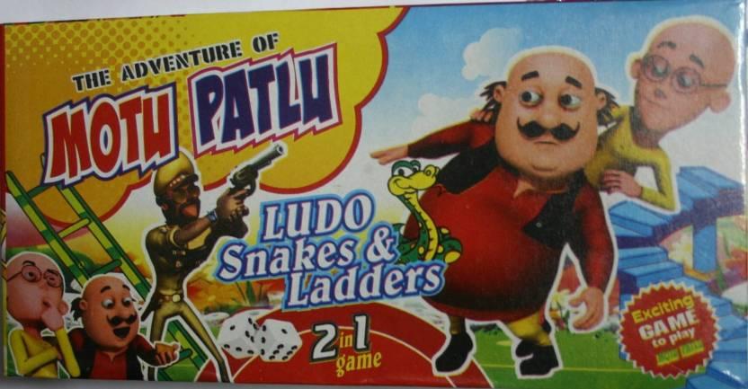 99shoppy Ludo Snake Ladders Motu Patlu Theme Board Game Ludo